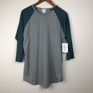 NEW LulaRoe Randy baseball Tee, L